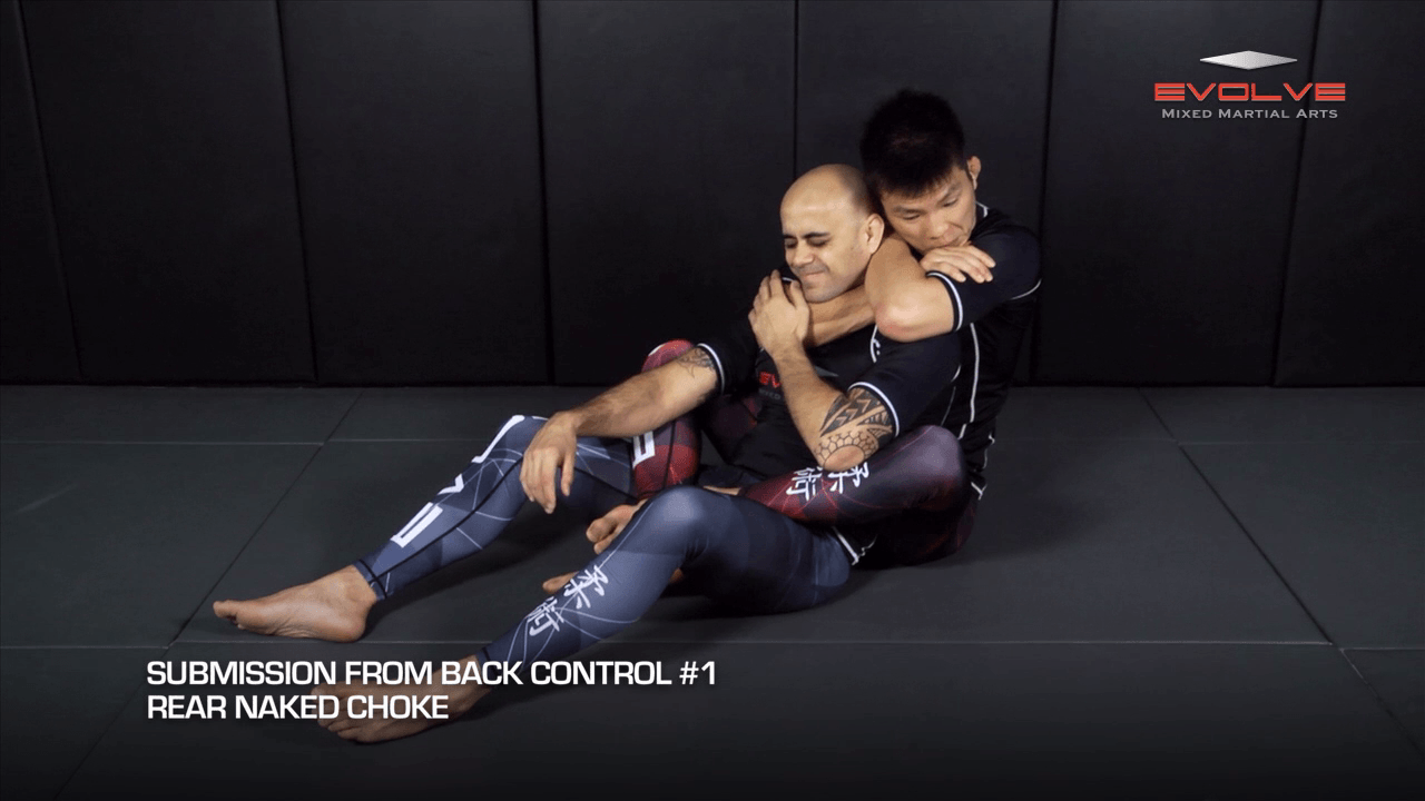 5 Submissions From Back Control