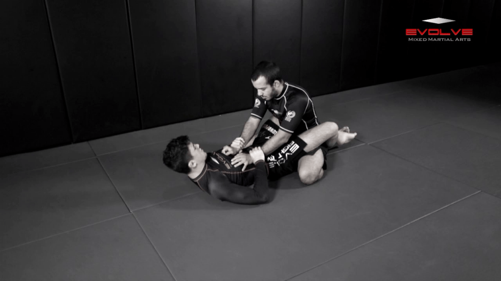 Closed Guard To Back Control Transition