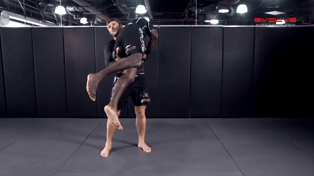 Head Outside Single Leg Takedown