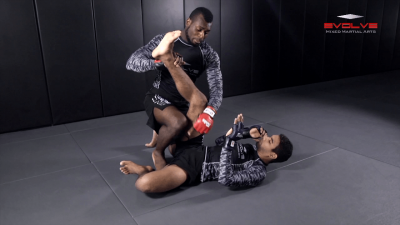 Side Control Escape From Double Leg