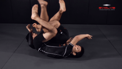 Side Control Transition To Back Control
