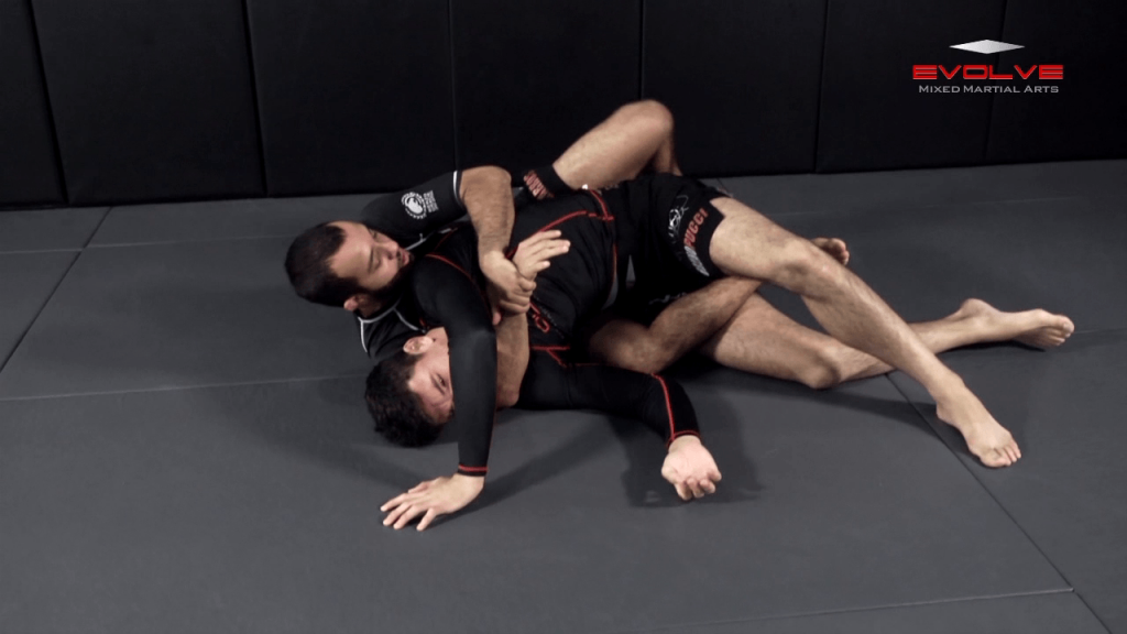 Taking The Back From Top Half Guard