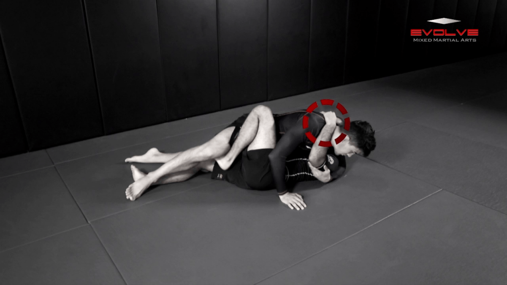 Transition From Half Guard To Back Control