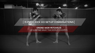5 Push Kick KO Setup Combinations