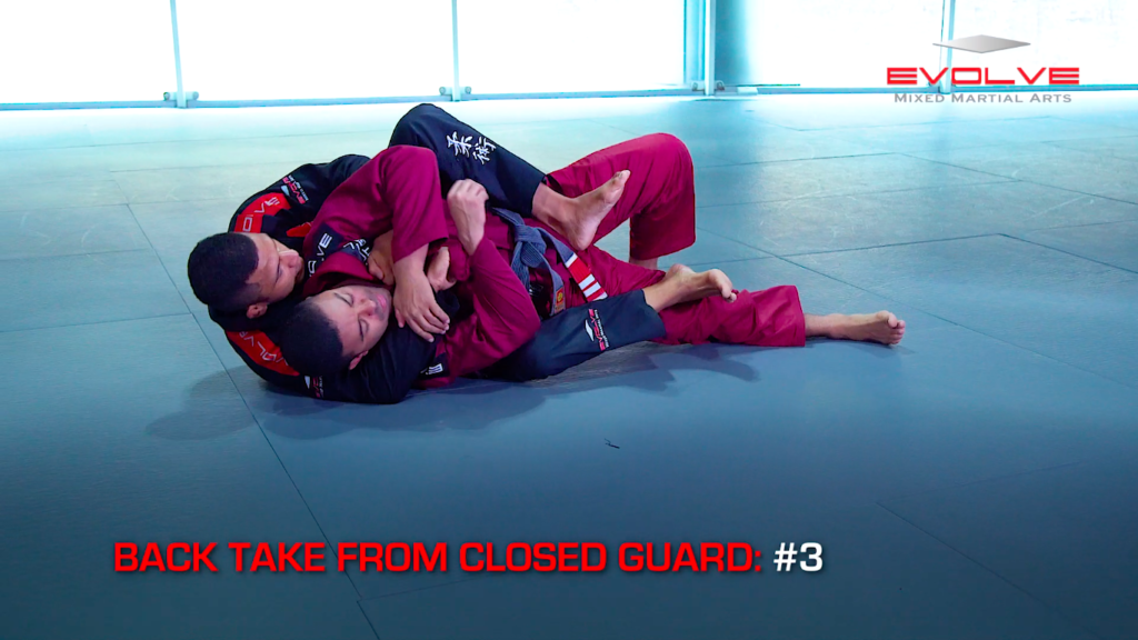 3 Back Takes From Closed Guard
