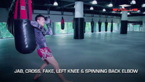 5 Spinning Back Elbow Combinations For Muay Thai