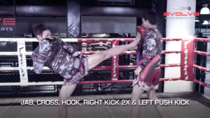 4 Push Kick Combinations For Muay Thai