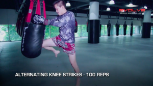 4 Basic Heavy Bag Drills For Muay Thai