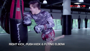 4 Flying Elbow Combinations For Muay Thai