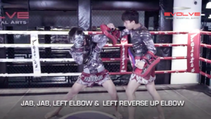 3 Reverse Up Elbow Combinations For Muay Thai