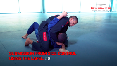5 Submissions From Side Control Using The Lapel