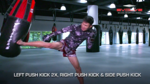 5 Push Kick Combinations For Muay Thai