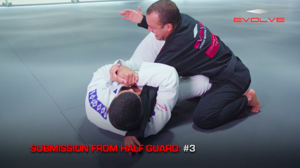 5 Submissions From Half Guard