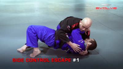 3 Side Control Escapes