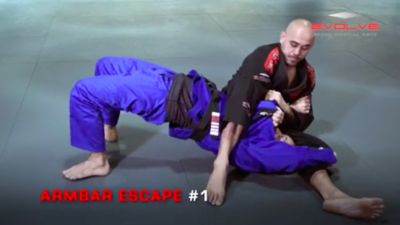 3 Armbar Escapes