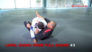 3 Lapel Chokes From Full Guard