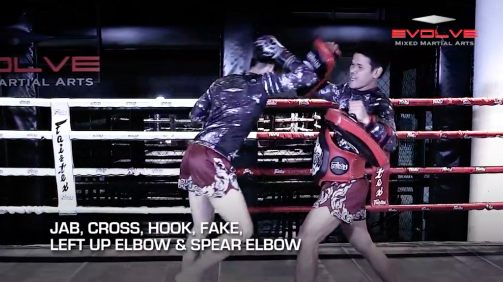 5 Spear Elbow Combinations
