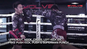 4 Superman Punch Combinations