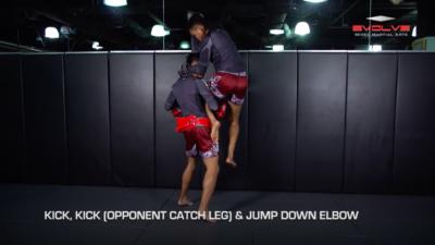 4 Leg Catch Defense Counterattacks