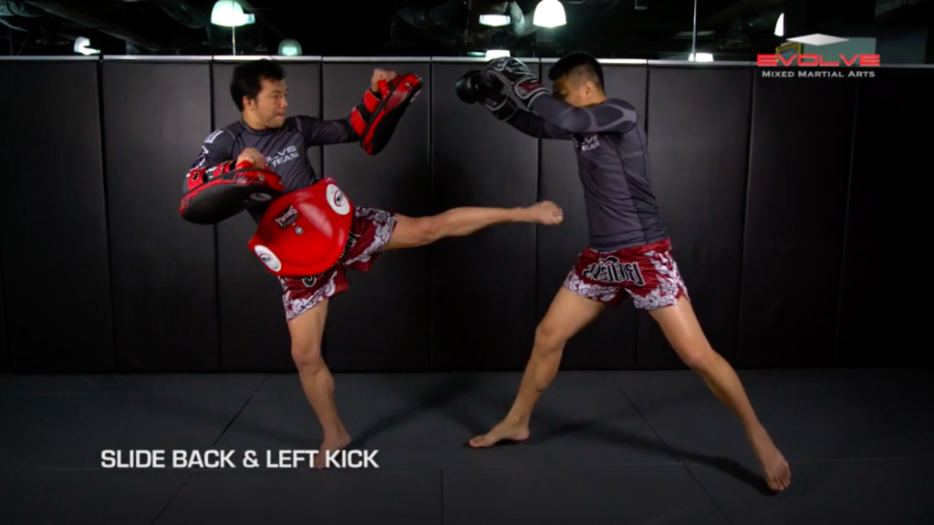3 Basic-Slide Back Defense & Counterattack Combinations