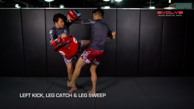3 Leg Catch Defense And Counterattack Variations