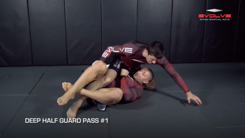 3 Deep Half Guard Passes
