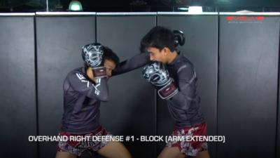 4 Ways To Defend An Overhand Right