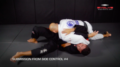 5 Submissions From Side Control