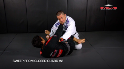 5 Sweeps From Closed Guard