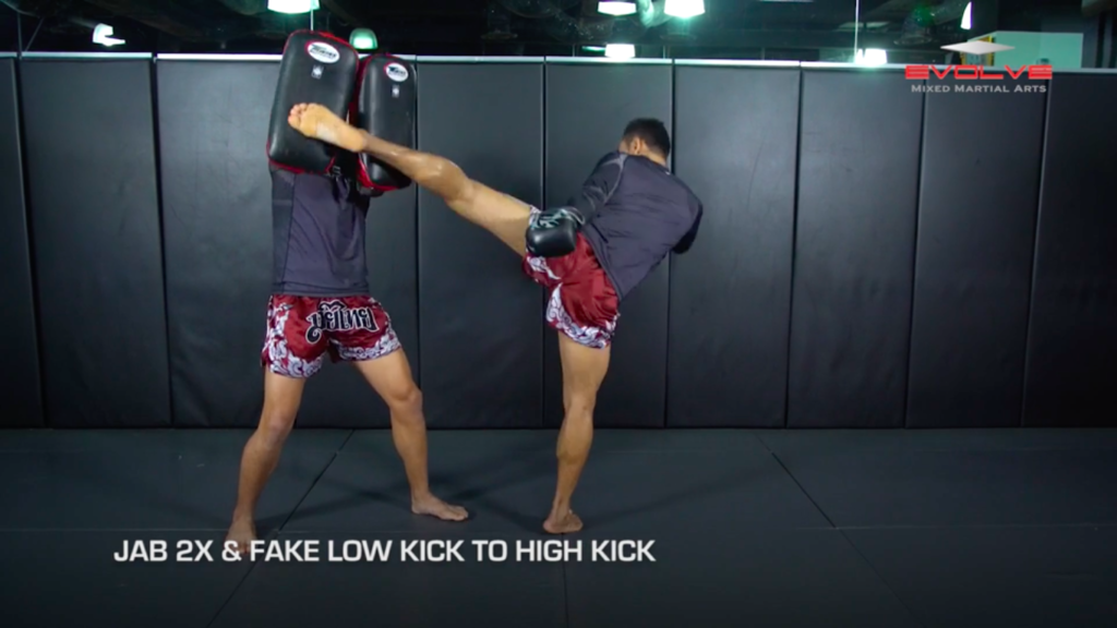 5 Fake Low Kick-To-High Kick Combinations