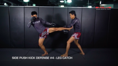 4 Ways To Defend The Side Push Kick