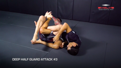 3 Deep Half Guard Attacks