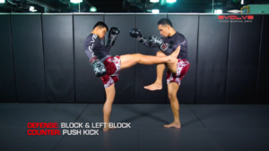 3 Ways To Defend And Counter A 1-2-Body Kick Combination