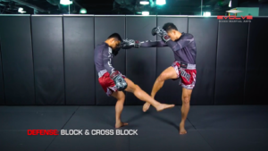 3 Ways To Defend A 1-2-Low Kick Combination