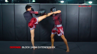 3 Ways To Defend A 1-2-High Kick Combination