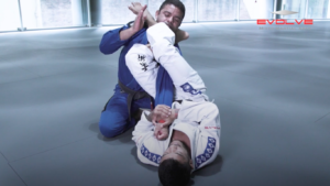 Armbar Variation From The Full Guard
