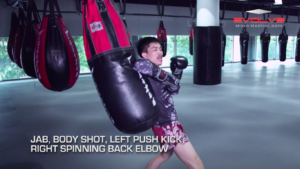 5 Spinning Back Elbow Combinations