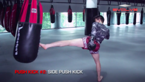 4 Push Kick Variations