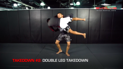 3 Ways To Defend Against Strikes With A Takedown