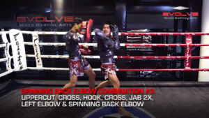 4 Spinning Back Elbow Combinations