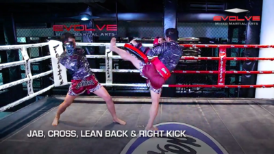 3 Lean Back And Counter Combinations