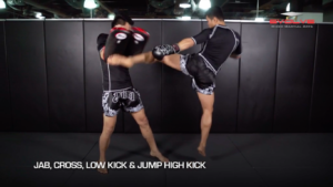 3 Jumping Roundhouse Kick Combinations