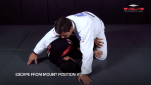 5 Ways To Escape The Mount Position