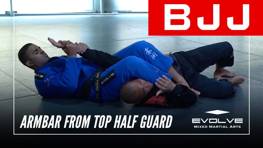 Armbar From Top Half Guard