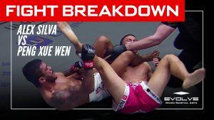 MMA FIGHT BREAKDOWN: Alex Silva's Armbar Submission