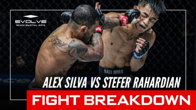 FIGHT BREAKDOWN: Alex Silva's Armbar Submission