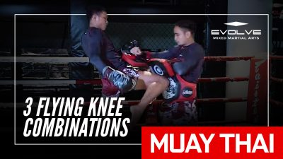 3 Flying Knee Combinations