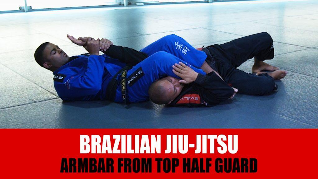Armbar From Top Half Guard