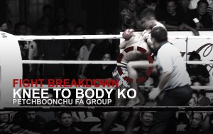 FIGHT BREAKDOWN: Muay Thai Clinch Knee KO