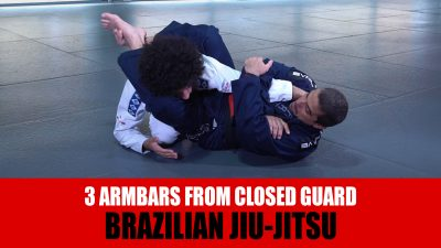 3 Armbars From Closed Guard